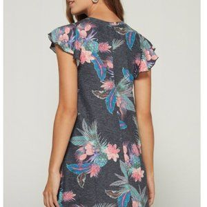 Gap Tropical flutter sleeve swing dress